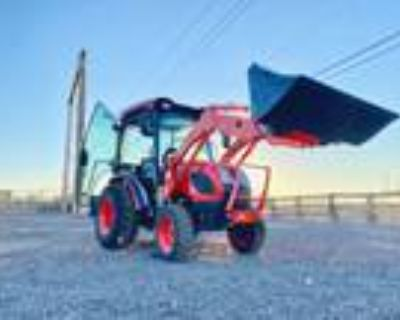 New 2021 KIOTI CK2610SEHC-TL CAB Tractor 26HP 4x4 HYSTAT