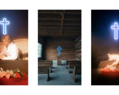 Neon Church & Wood Warehouse