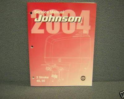 2004 Johnson Service Manual 40,50 H.p. 2 Stroke