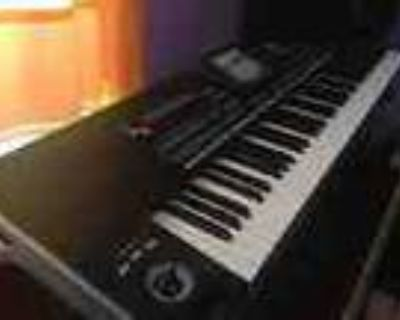 Korg Pa3x 61 Key Workstation With Touch Display Keyboard