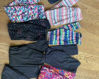 9 pair of size 7/8 pants