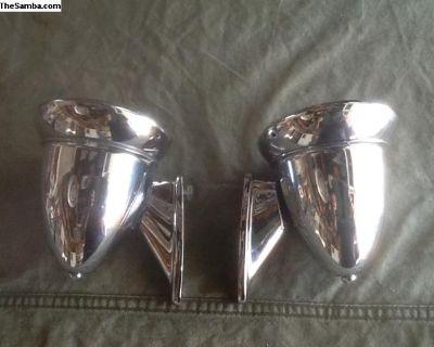 Talbot style mirror pair used