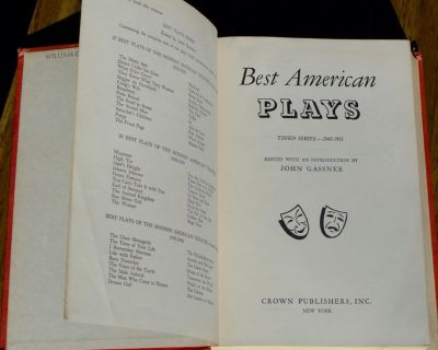 Best American Plays Third Series 1945-1951 by John Grassne