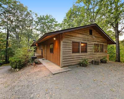 Rustic cabin with deck, picnic table & hot tub - recreation room in basement! - Whittier