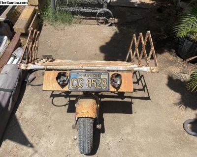 Jarn-Orch single wheel trailer