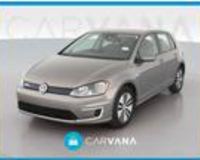 2016 Volkswagen e-Golf Gray, 43K miles