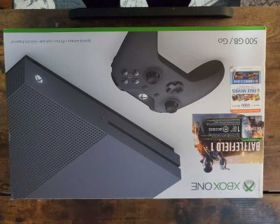 Used Xbox One S 500GB Special Edition Console