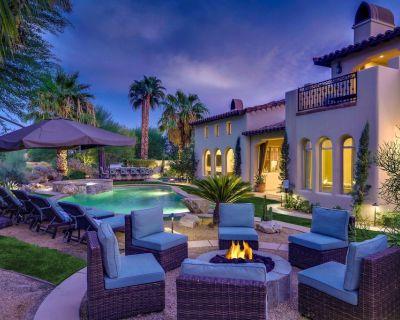 Cappella - Stylish PGA West Villa - Pool, Spa, Games + Golf Course Views - La Quinta