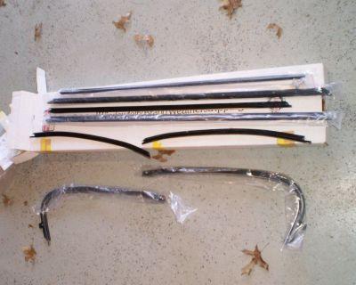 Window Sweeps Felt Kit for 1969-1972 Pontiac GTO Lemans 2 Door Hardtop
