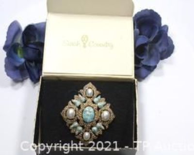 Vintage Rhinestone and Designer Signed Costume Jewelry Auction