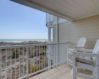 Wrightsville Dunes H-2C - Oceanfront condo with community pool, tennis, beach - Shell Island