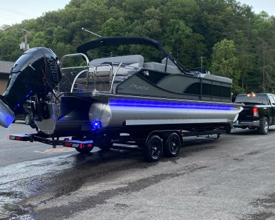 2021 Manitou 25 SES BENCH Pontoon Boats Pikeville, KY