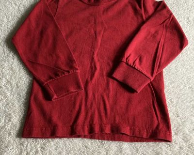 Fruit of the loom plain red shirt size 4/5