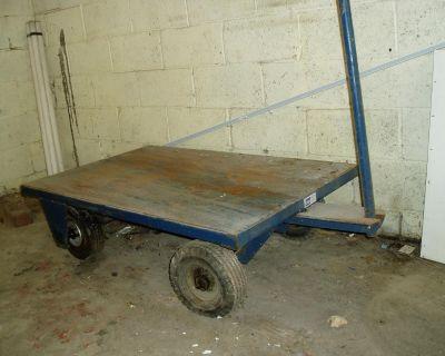 Heavy Duty Metal Pull Cart