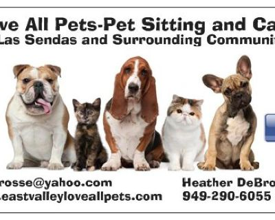 Pet Sitting and Care