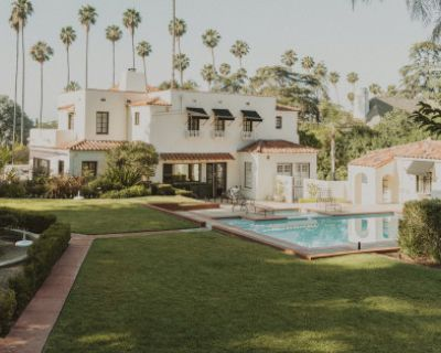 Vintage Spanish Estate w/ Pool on Acre Property, Altadena, CA