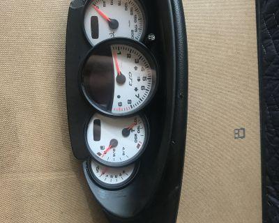 Porsche 996 GT3 OEM Instrument cluster dash ODO gauges KM/H - made in Germany