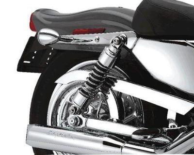 Brand New Harley-davidson Xl Billet Low Profile Rear Suspension Kit!!!!54731-04