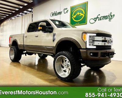 2017 Ford Super Duty F-250 SRW KING RANCH CREW CAB SHORT BED 4X4 DIESEL LIFTED
