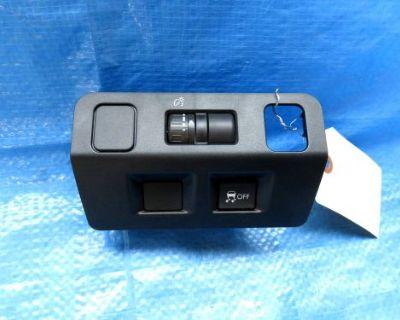 15 16 Subaru Wrx Dash Traction Control Dimmer Switch Bezel Trim Oem