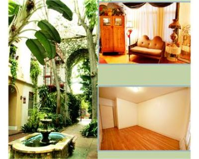 UTILITIES - Free!  Lovely 1920's Apt in HOLLYWOOD.
