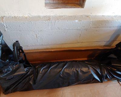 New York - Premium black 4 door soft top with window bag