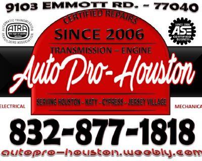 Heater | AC | Brake | Engine | Transmission | Mobile Mechanics | Houston