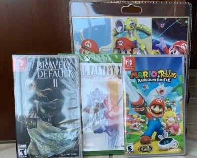 Nintendo Switch and Xbox Game Bundle