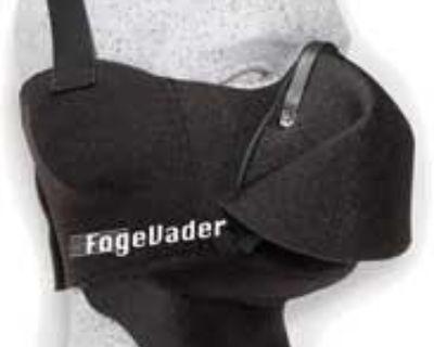 Lot Of 20 Fog Evader Snowmobile Breath Deflector R U Outside Black 48-1040