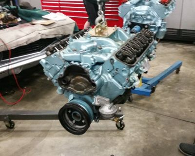 1972 PONTIAC 455 BORED 30 OVER FORGED PISTONS RUNS
