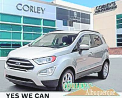 FORD 2020 ECOSPORT SE, Automatic, Front Wheel Drive, 6 Speed, 21k miles, Stock #V7988B...