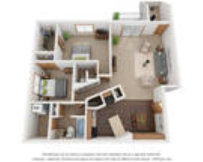 Monterey Apartments - Two Bedroom 1.5 Bath D With Den