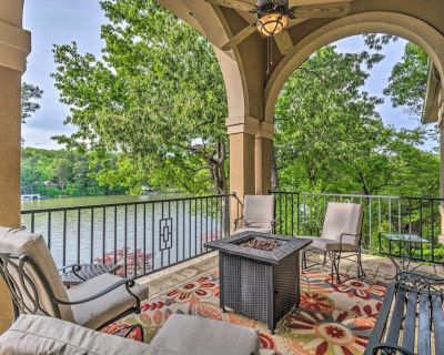 NEW! Luxurious Hot Springs Abode w/ Private Dock! - Hot Springs