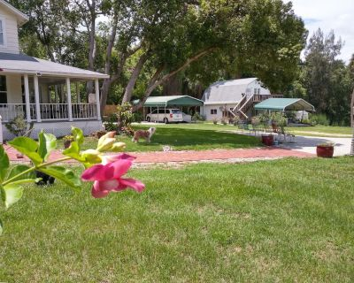 Sweet little upstairs efficiency cottage overlooking a lake! - Mount Dora