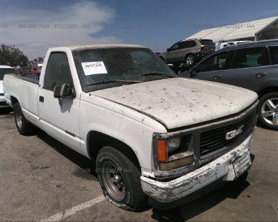Salvage White 1998 Gmc Sierra 1500