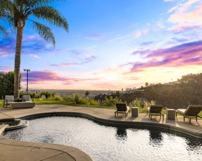 Hollywood Hills Private Oasis w Ocean & City Views - Hollywood Hills West