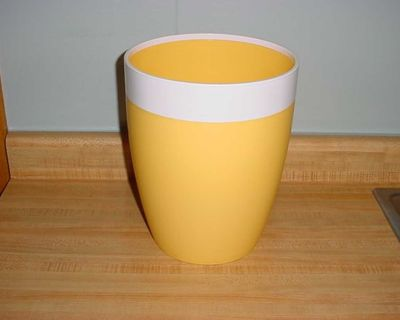 Barely Used Room Essential Modern Stylish Sturdy Wastebasket. Designed For Long-Lasting Use! Features A Wide Rim For Quick & Easy...