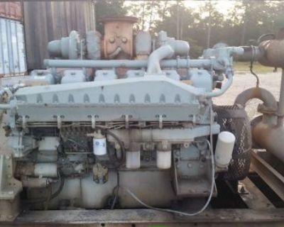Mitsubishi Marine Diesel Engine S12a2-ympta-3