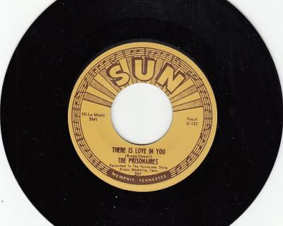 PRISONAIRES ~ There Is Love In You*VG*45 !