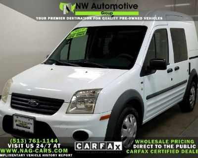 """2013 Ford Transit Connect 114.6"""" XLT w/side & rear door privacy glass"""