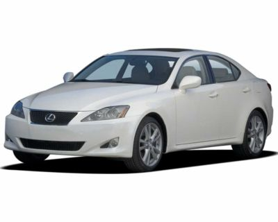 Wanted 2006-10 Lexus IS 250 project payupto $3000