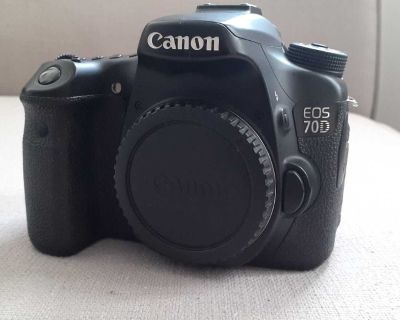 Canon 70 D Body Only
