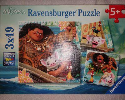 Ravensburger Disney Moana 49 piece puzzle.