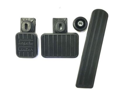 1946-1948 Dodge, Chrysler, Clutch Brake And Gas Pedal Set, With Seals