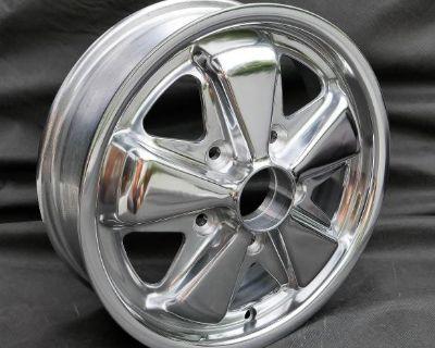 15x4.5 Polished Porsche Fuchs Replicas - Quality