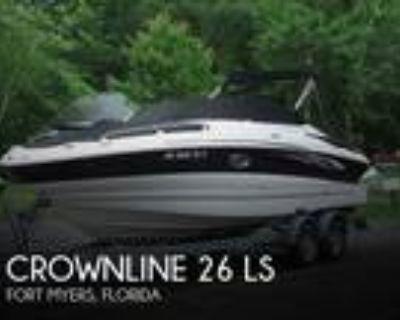 26 foot Crownline 26