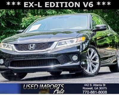 2014 Honda Accord Coupe 2dr V6 Auto EX-L