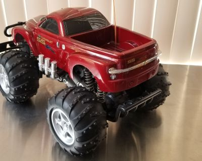 SSR RC monster truck