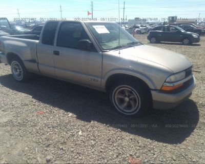 Salvage Champagne 2000 Chevrolet S-10