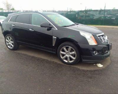 Salvage Black 2014 Cadillac Srx